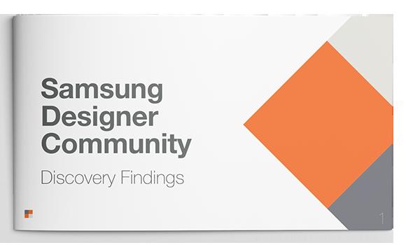 Samsung Designer Community Discovery Cover