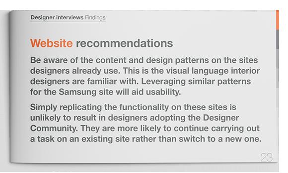 Samsung Designer Community Website Recomendations